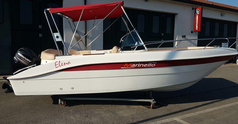Marinello Open Elena 6,50 Metri + Mercury F40 PRO senza patente