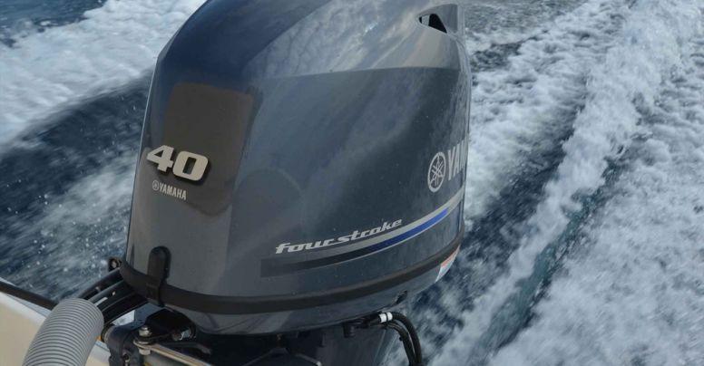 Motore fuoribordo Yamaha F 40 GETL 16 Valvole