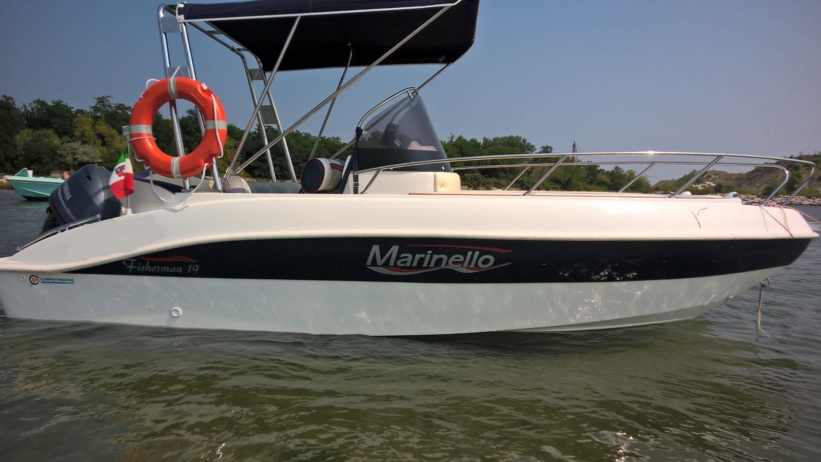 Foto Marinello 19 Fisherman Open + Yamaha F40 HETL - 4
