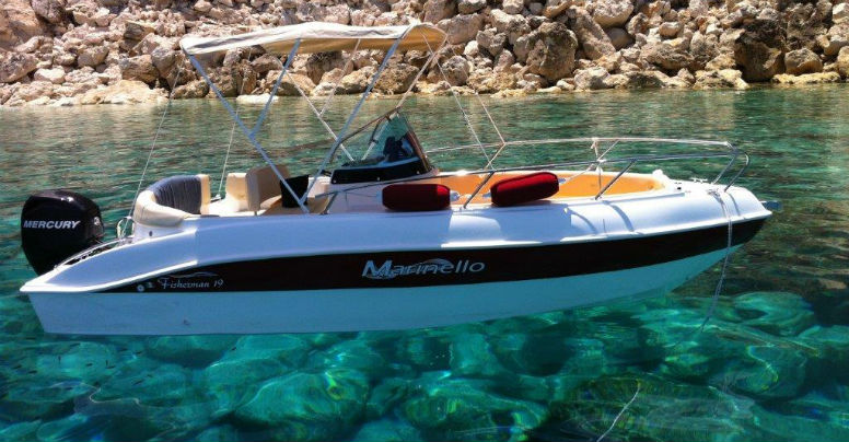 Marinello 19 Fisherman open
