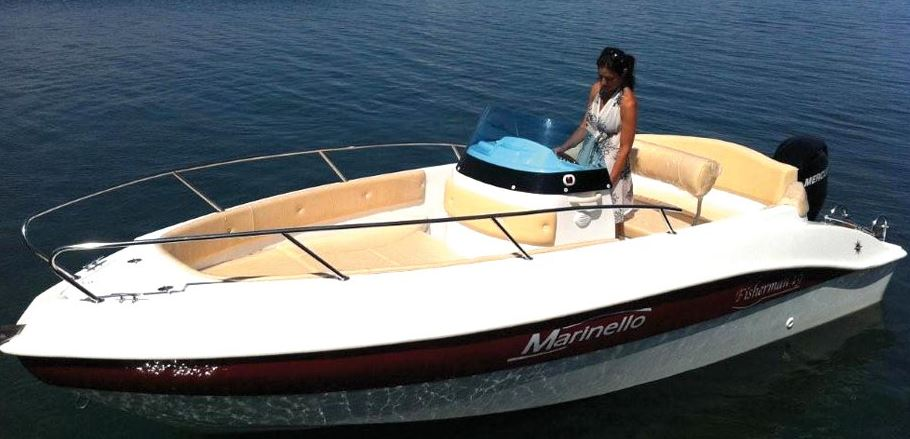 Foto Marinello 19 Fisherman Open + Yamaha F40 HETL - 3