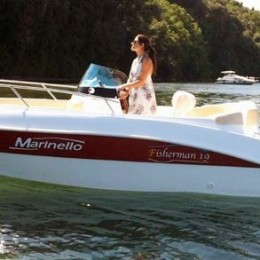 Foto Marinello 19 Fisherman Open + Yamaha F40 HETL - 3