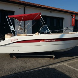 marinello elena 650 open line yamaha F40