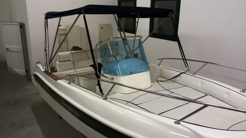 barche open usate Marinello 19 Fisherman senza patente