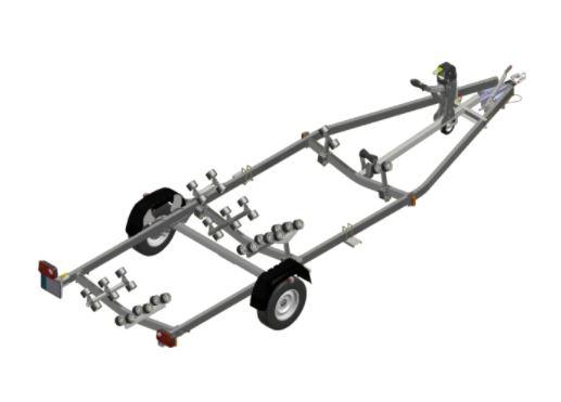 rimorchio satellite companymarine venezia 1500 kg