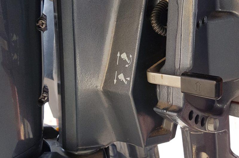 Yamaha F40 FEHDS, gambo corto manetta