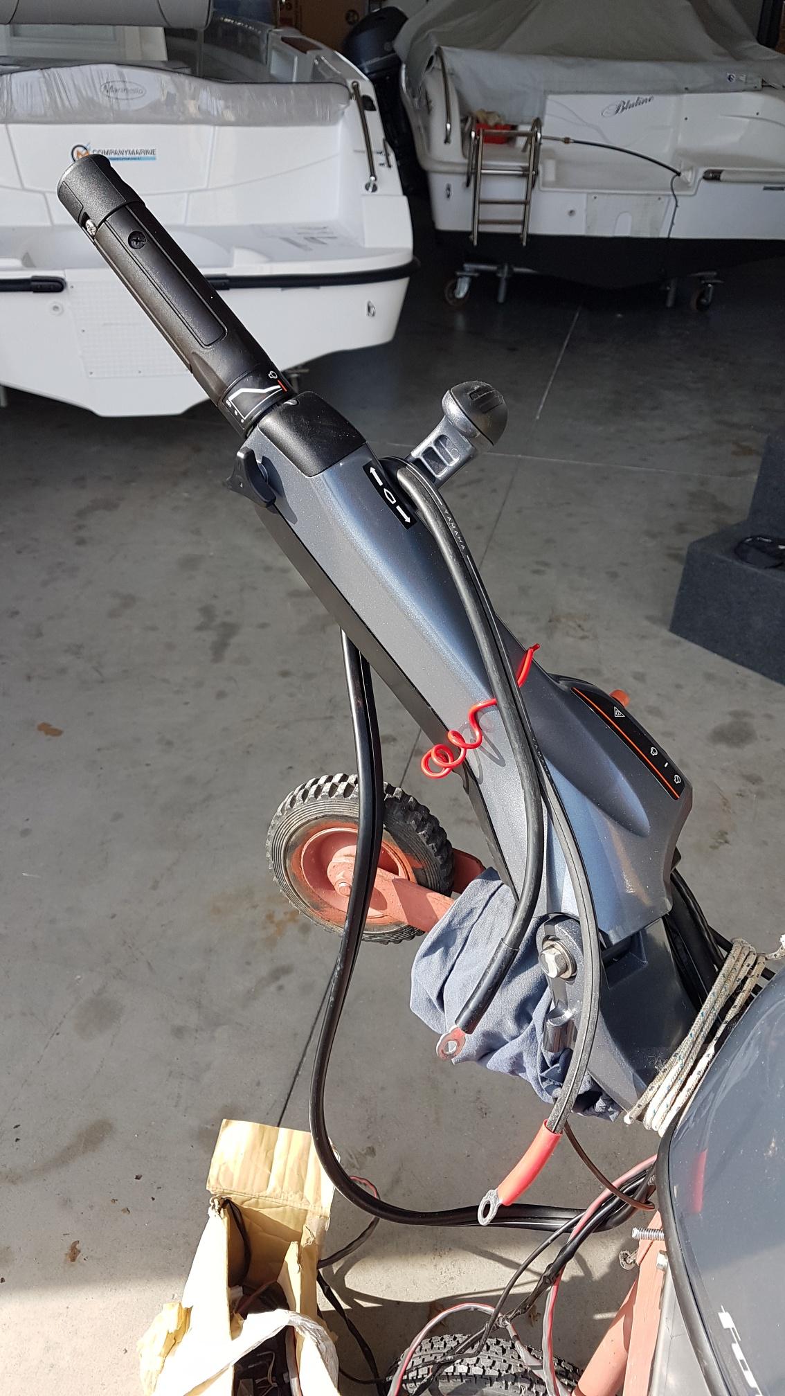 motore fuoribordo usato yamaha f40 fehds corto manetta
