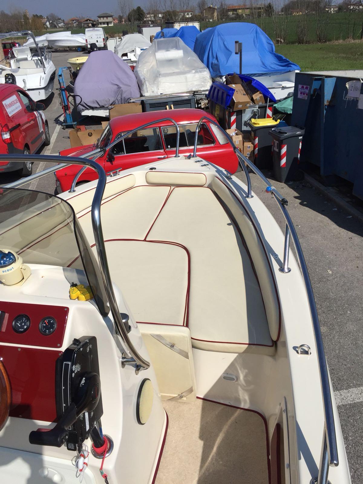 Foto Occasione Open 19.5 Adriatic + Mercury F 40 Orion usato - 13