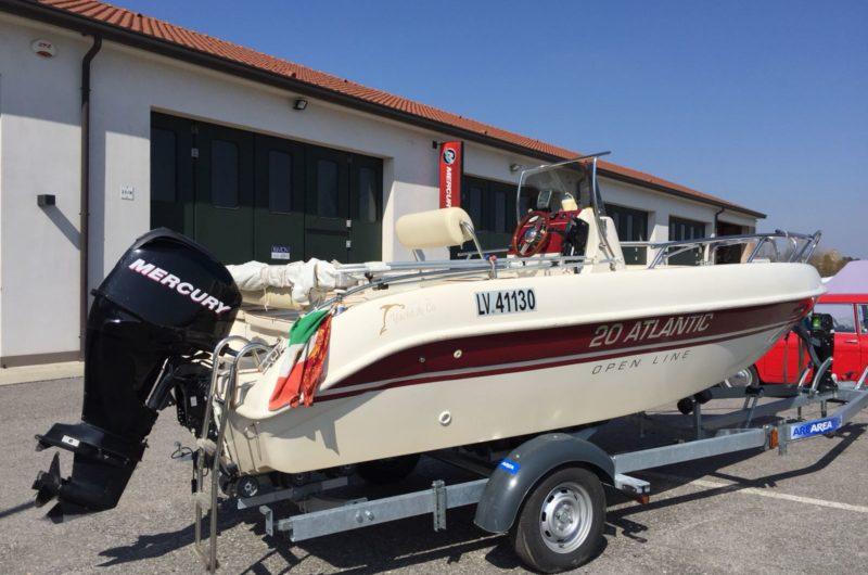 Foto Occasione Open 19.5 Adriatic + Mercury F 40 Orion usato - 16