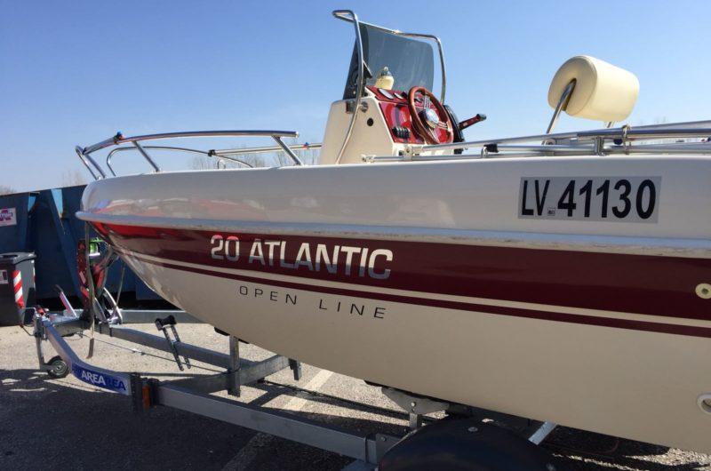 Foto Occasione Open 19.5 Adriatic + Mercury F 40 Orion usato - 3