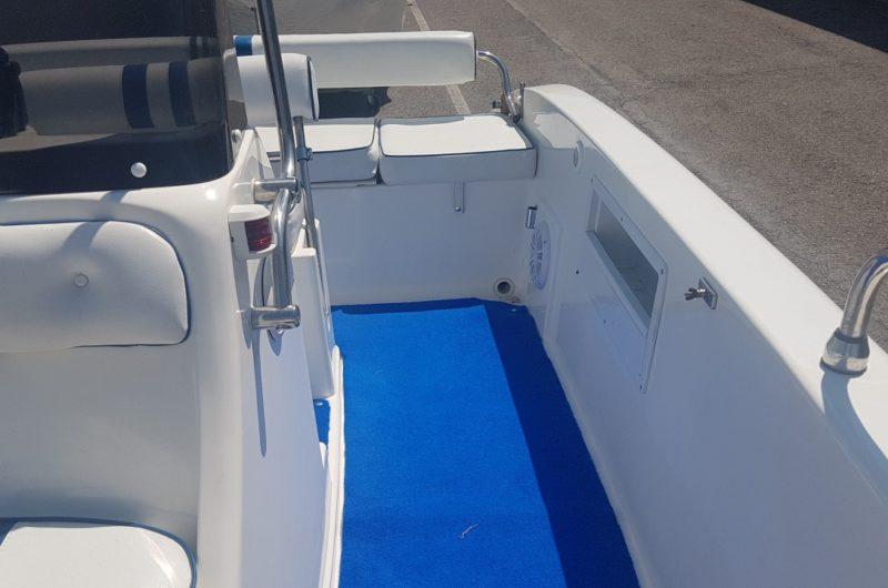 barca open prima esperienza yamaha 40