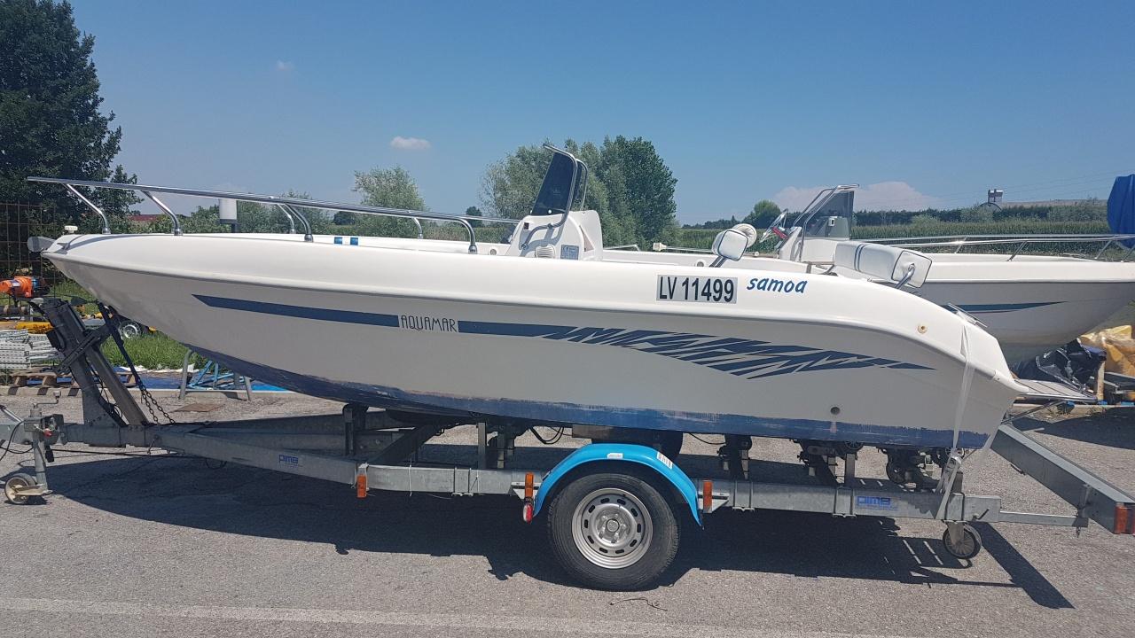 Foto Barca open senza patente Aquamar Samoa 550 + Yamaha F 40 4T - 1