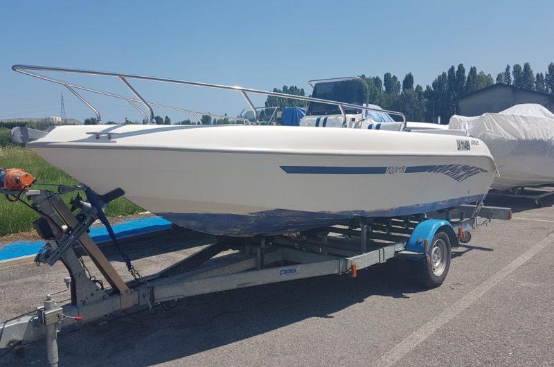 Foto Barca open senza patente Aquamar Samoa 550 + Yamaha F 40 4T - 9