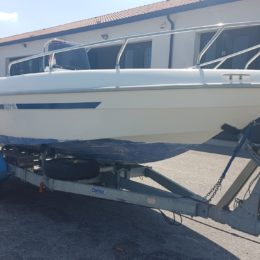 Foto Barca open senza patente Aquamar Samoa 550 + Yamaha F 40 4T - 10