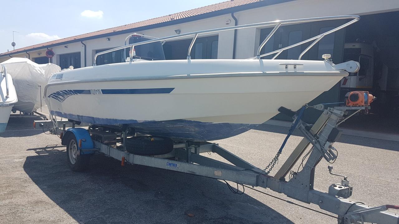 Foto Barca open senza patente Aquamar Samoa 550 + Yamaha F 40 4T - 6
