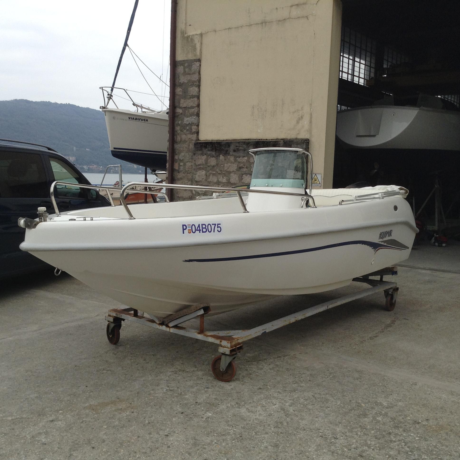 Foto Barca Open Senza Patente Aquamar First + Selva F 40 4T - 1