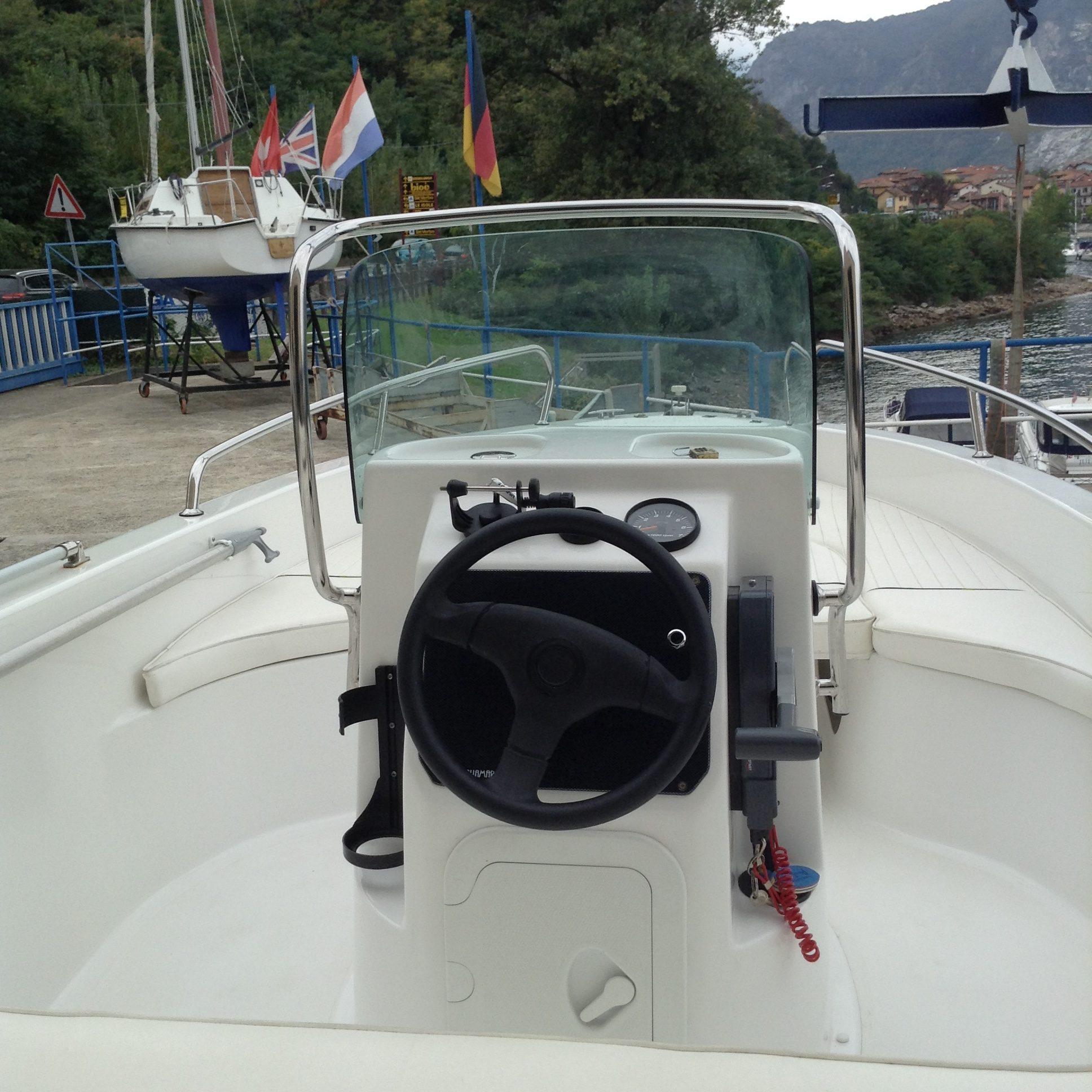 Foto Barca Open Senza Patente Aquamar First + Selva F 40 4T - 2