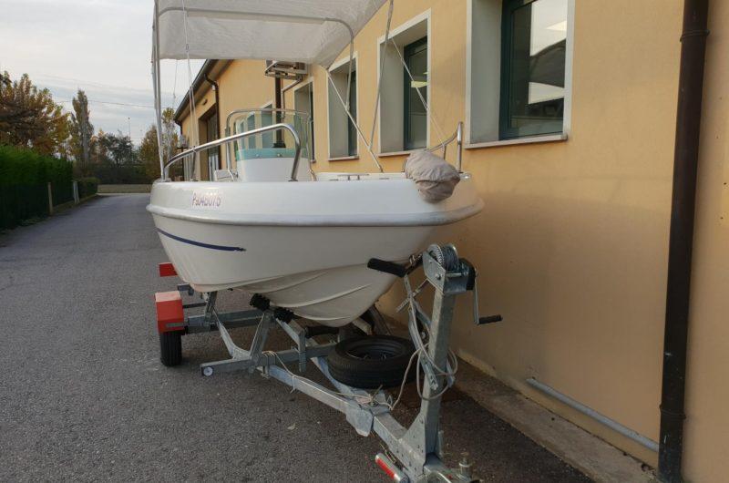 Foto Barca open Aquamar + Selva F40 + Carrello stradale - 11