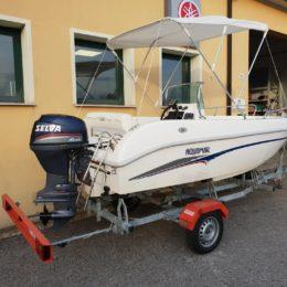 Foto Barca open Aquamar + Selva F40 + Carrello stradale - 12
