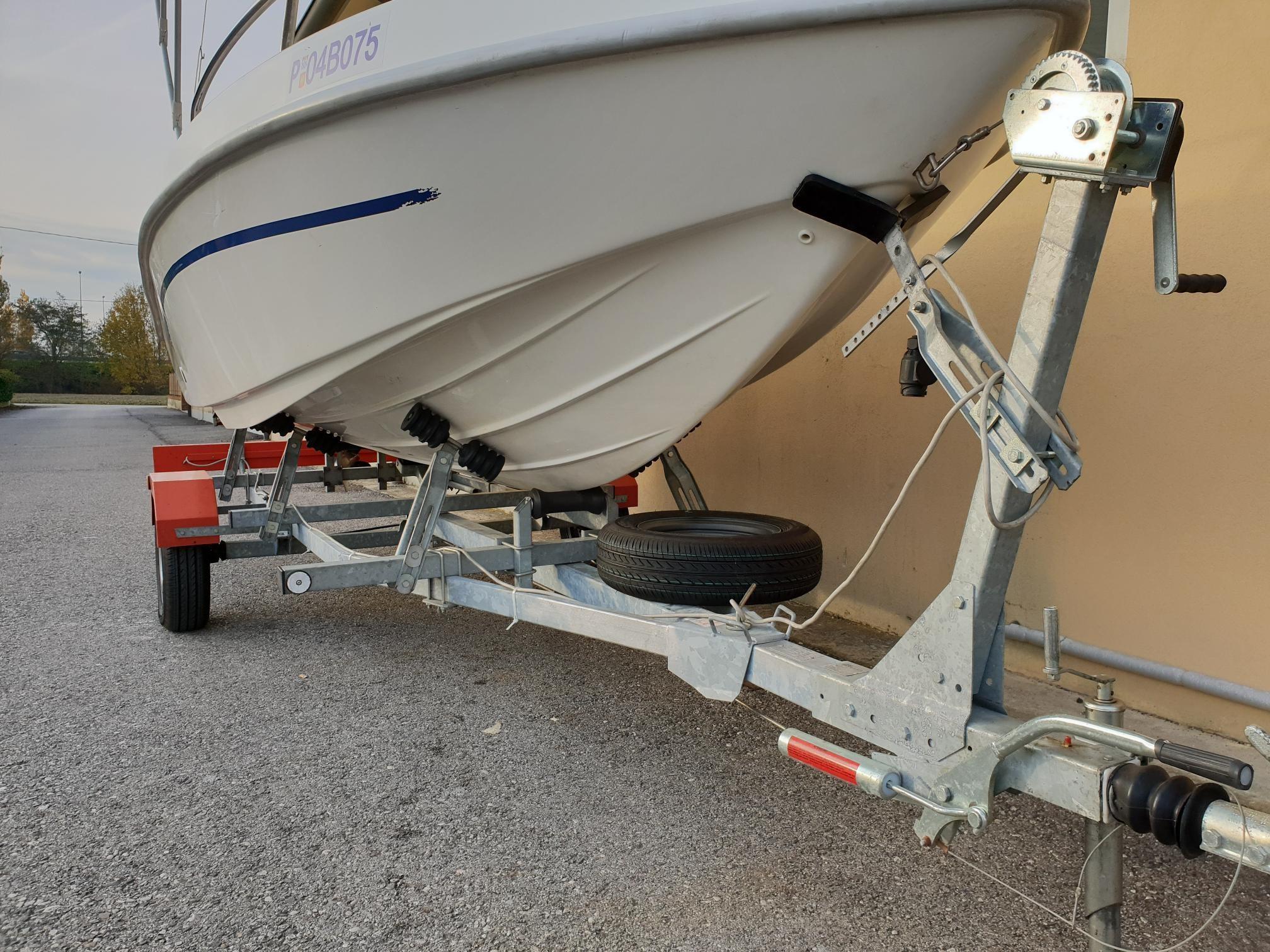 Foto Barca open Aquamar + Selva F40 + Carrello stradale - 10