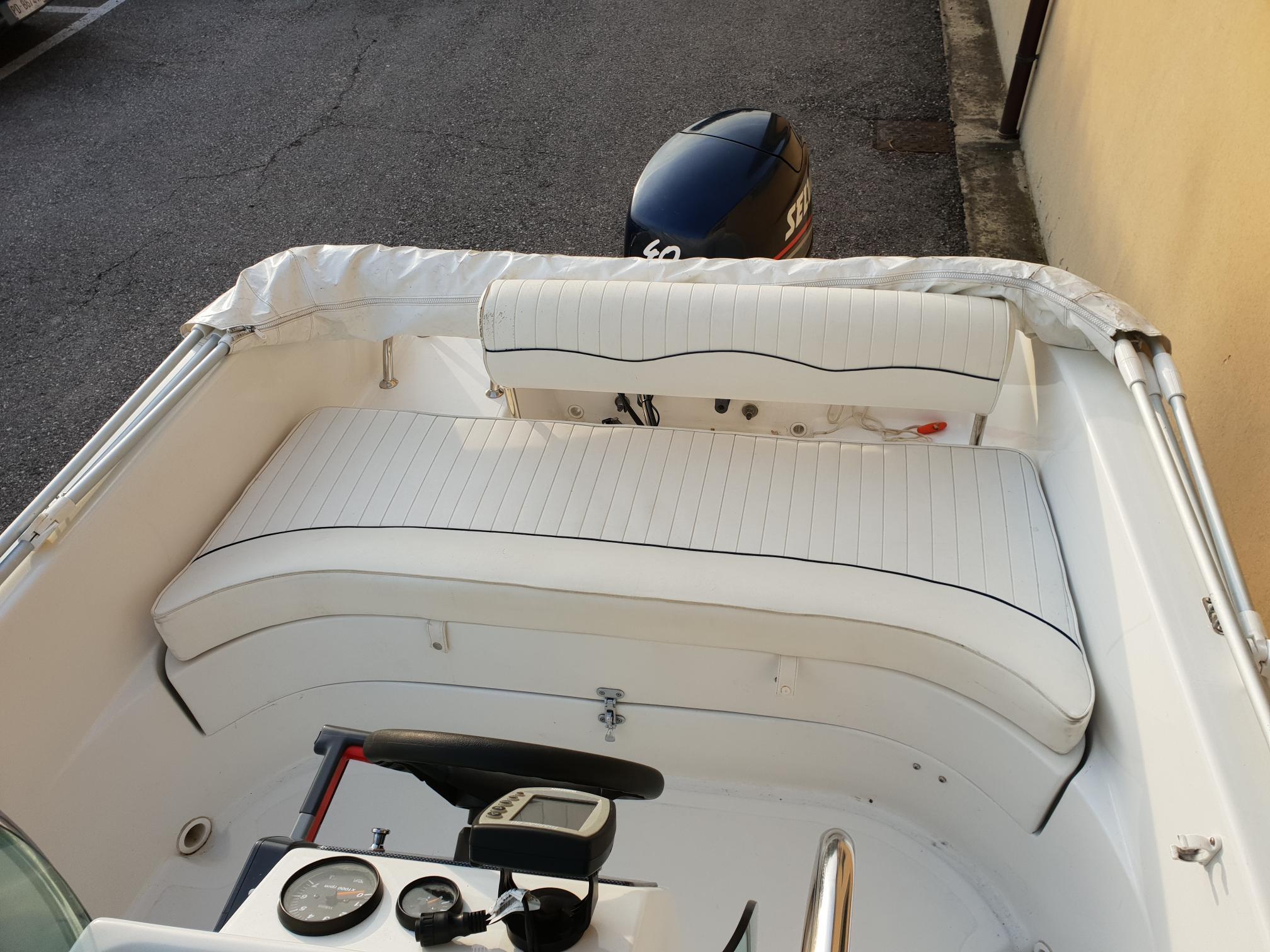Foto Barca open Aquamar + Selva F40 + Carrello stradale - 5
