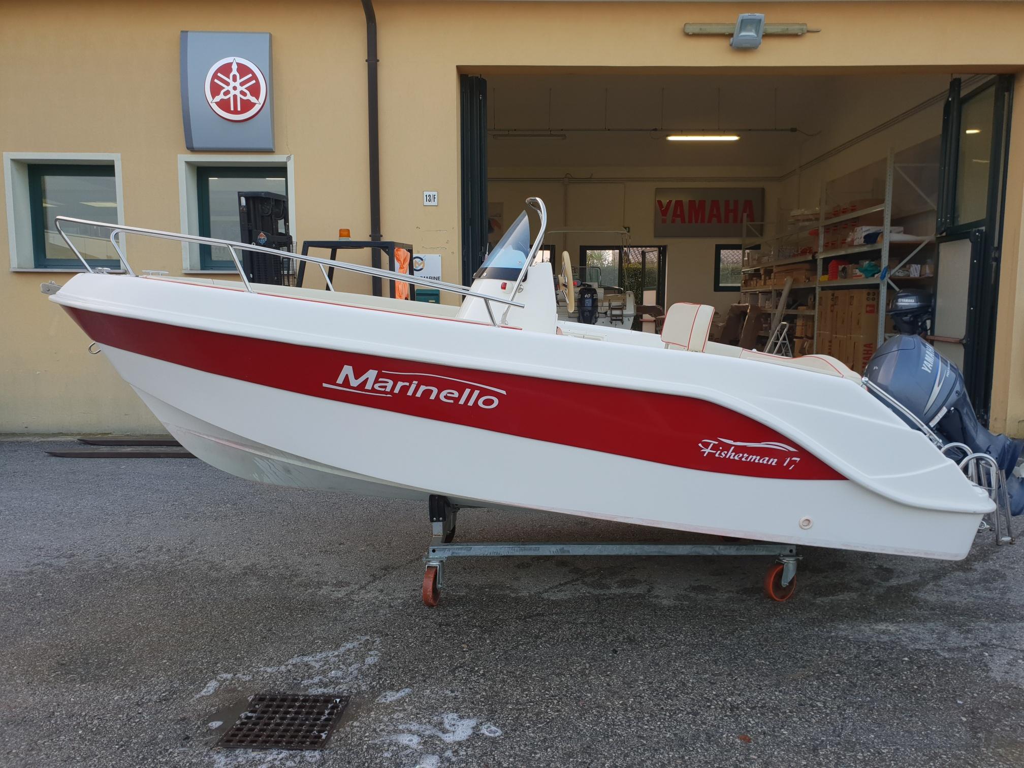 Foto Occasione Open Marinello 17 Fisherman + Yamaha F 40/60 - 5