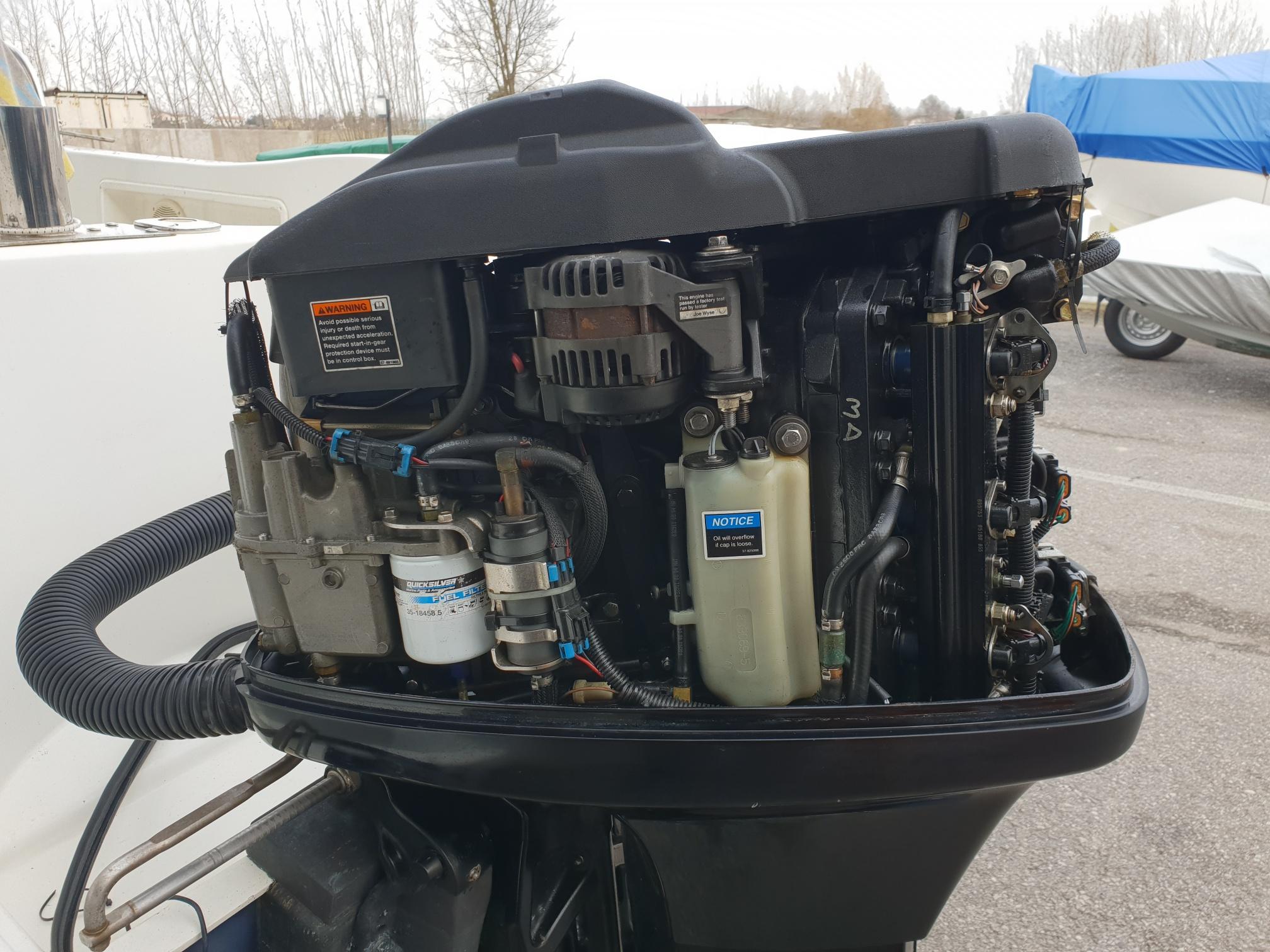 Foto Motore Fuoribordo Usato Mercury 135 Optimax L - 3