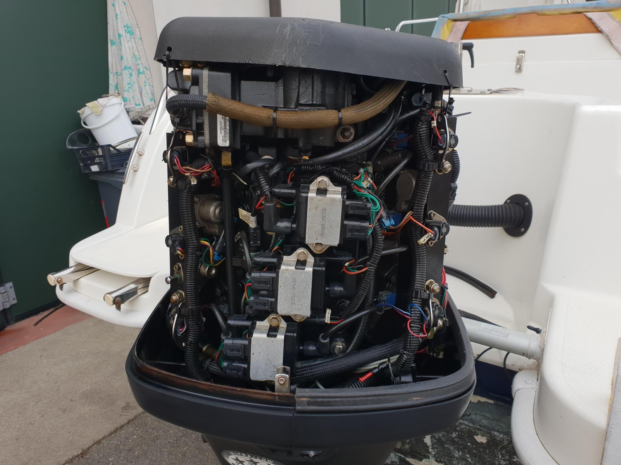 Foto Motore Fuoribordo Usato Mercury 135 Optimax L - 4