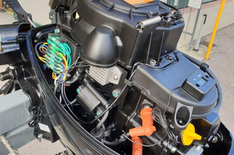 Foto Motore Fuoribordo Usato Hidea F 9.9 4 tempi gambo corto - 4