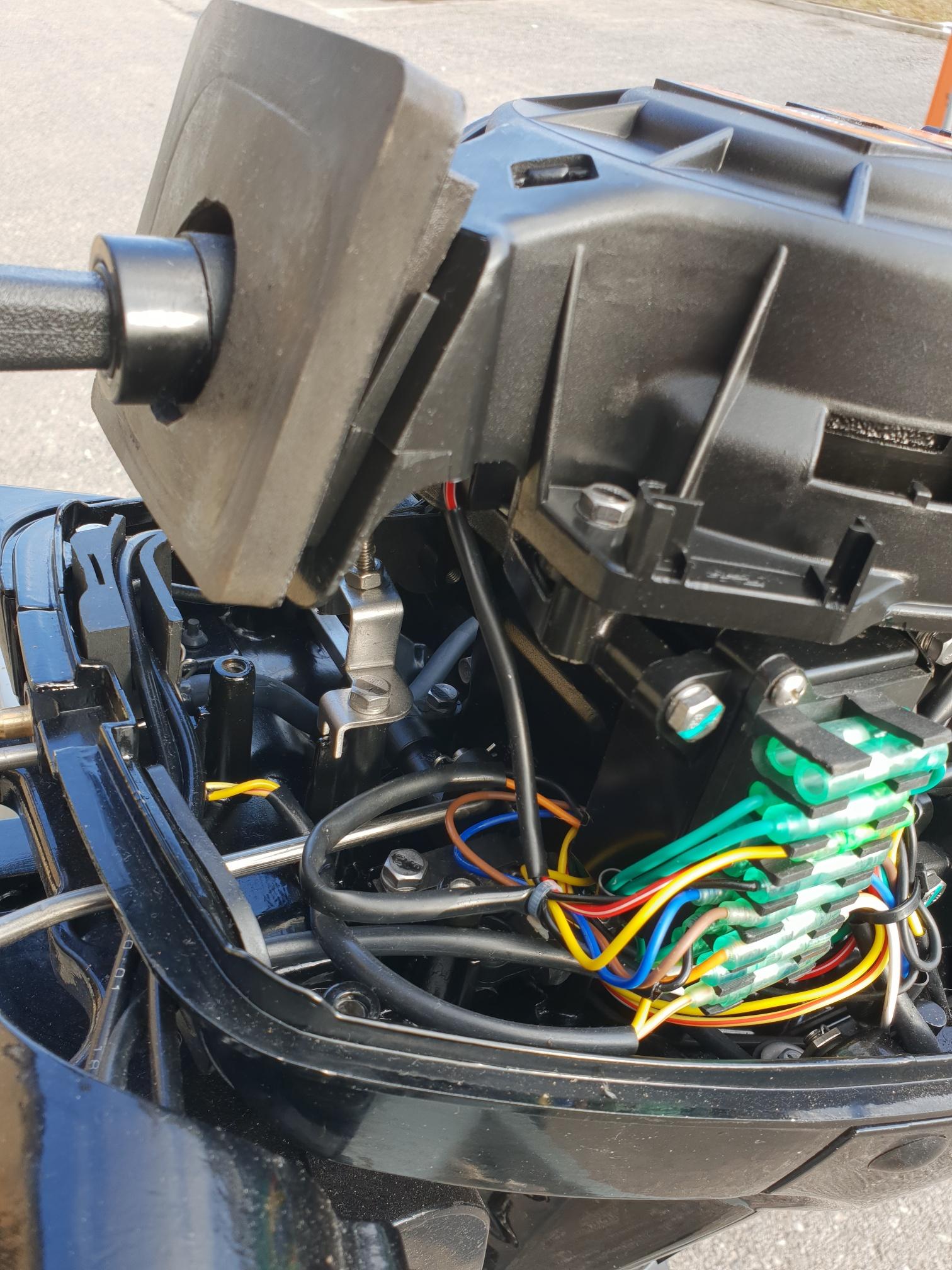 motore fuoribordo usato hidea f9 9 corto manetta
