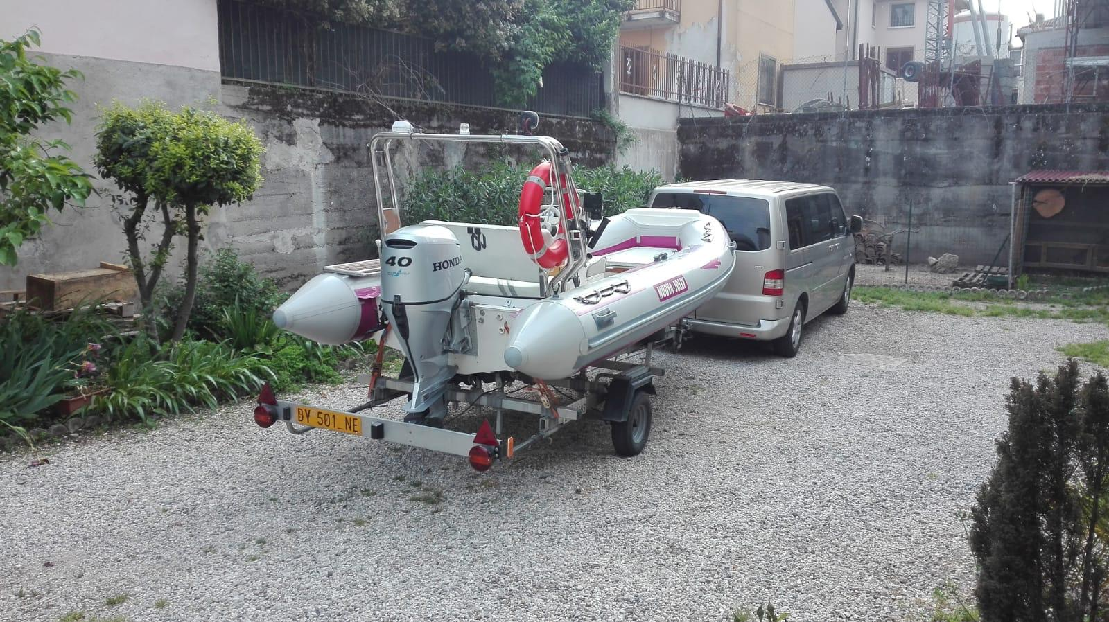 Foto Gommone Nuova Jolly 5 metri con carrello stradale - 11