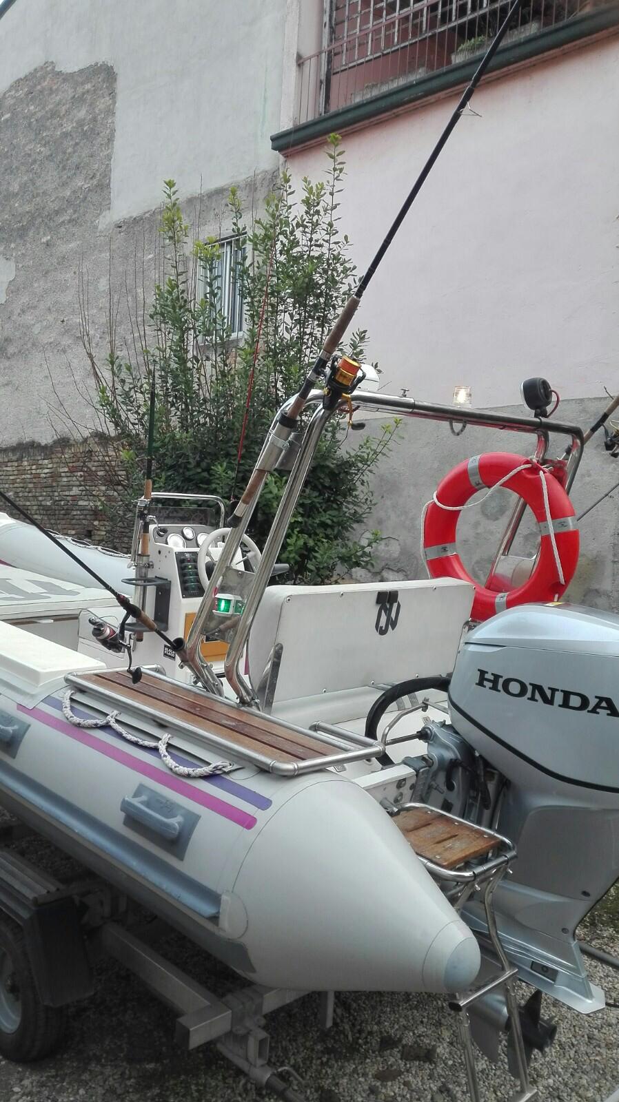 Foto Gommone Nuova Jolly 5 metri con carrello stradale - 14