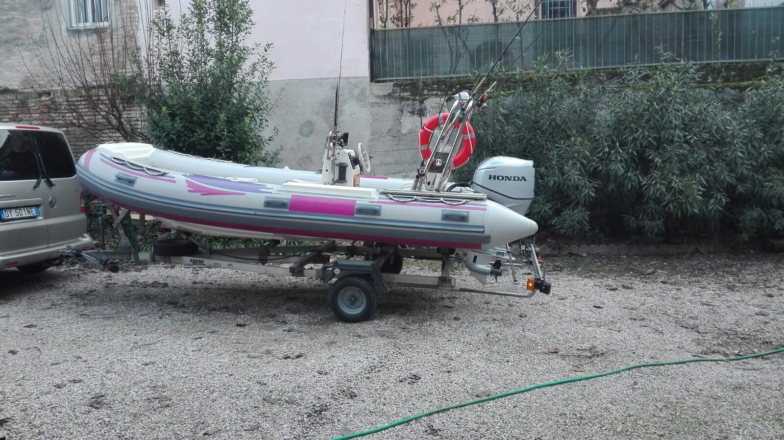 Foto Gommone Nuova Jolly 5 metri con carrello stradale - 3
