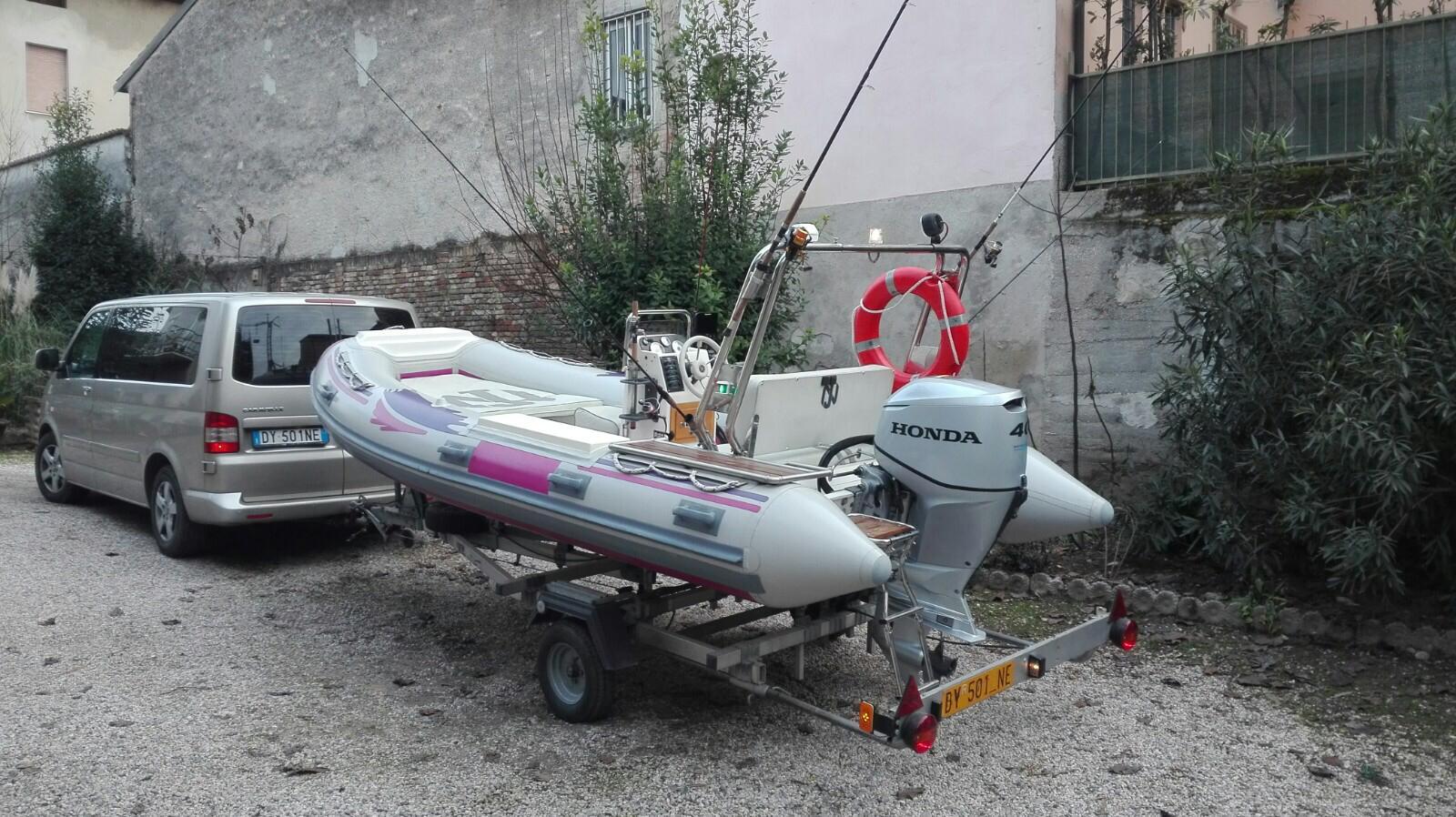 Foto Gommone Nuova Jolly 5 metri con carrello stradale - 5