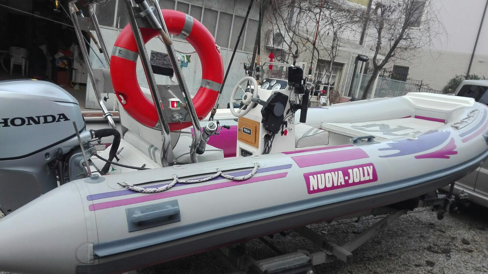 Foto Gommone Nuova Jolly 5 metri con carrello stradale - 1