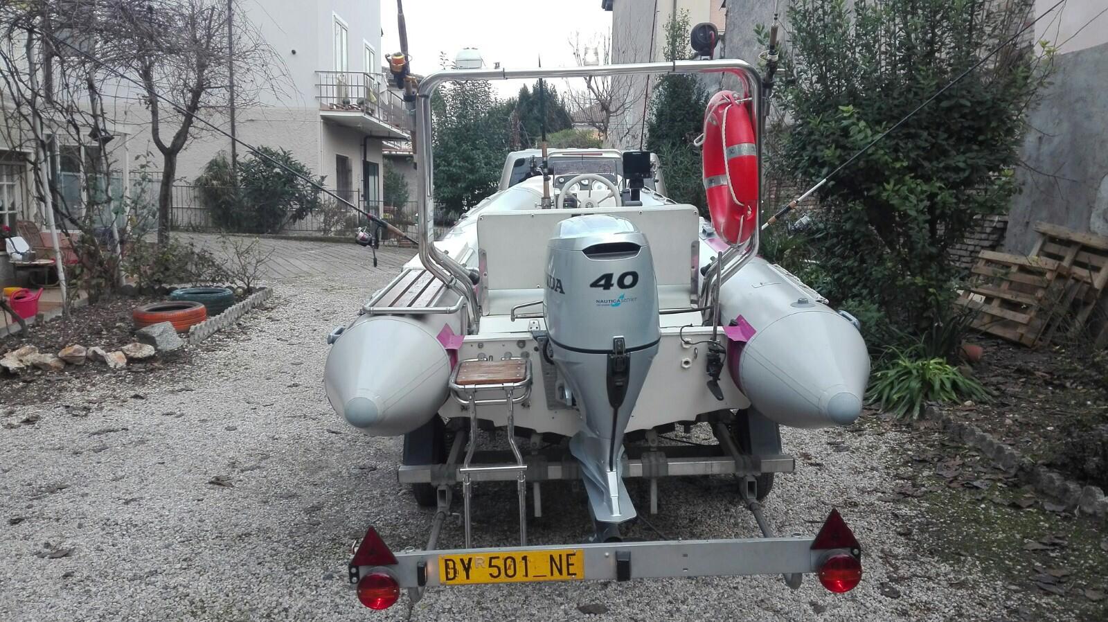 Foto Gommone Nuova Jolly 5 metri con carrello stradale - 7