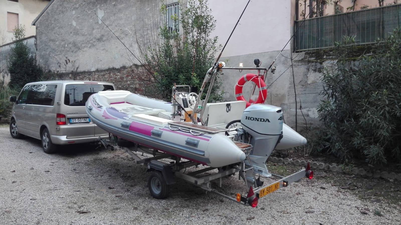 Foto Gommone Nuova Jolly 5 metri con carrello stradale - 8