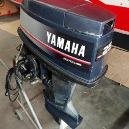 Foto Motore Yamaha 25 TOP 700 Trim Elettrico - 3