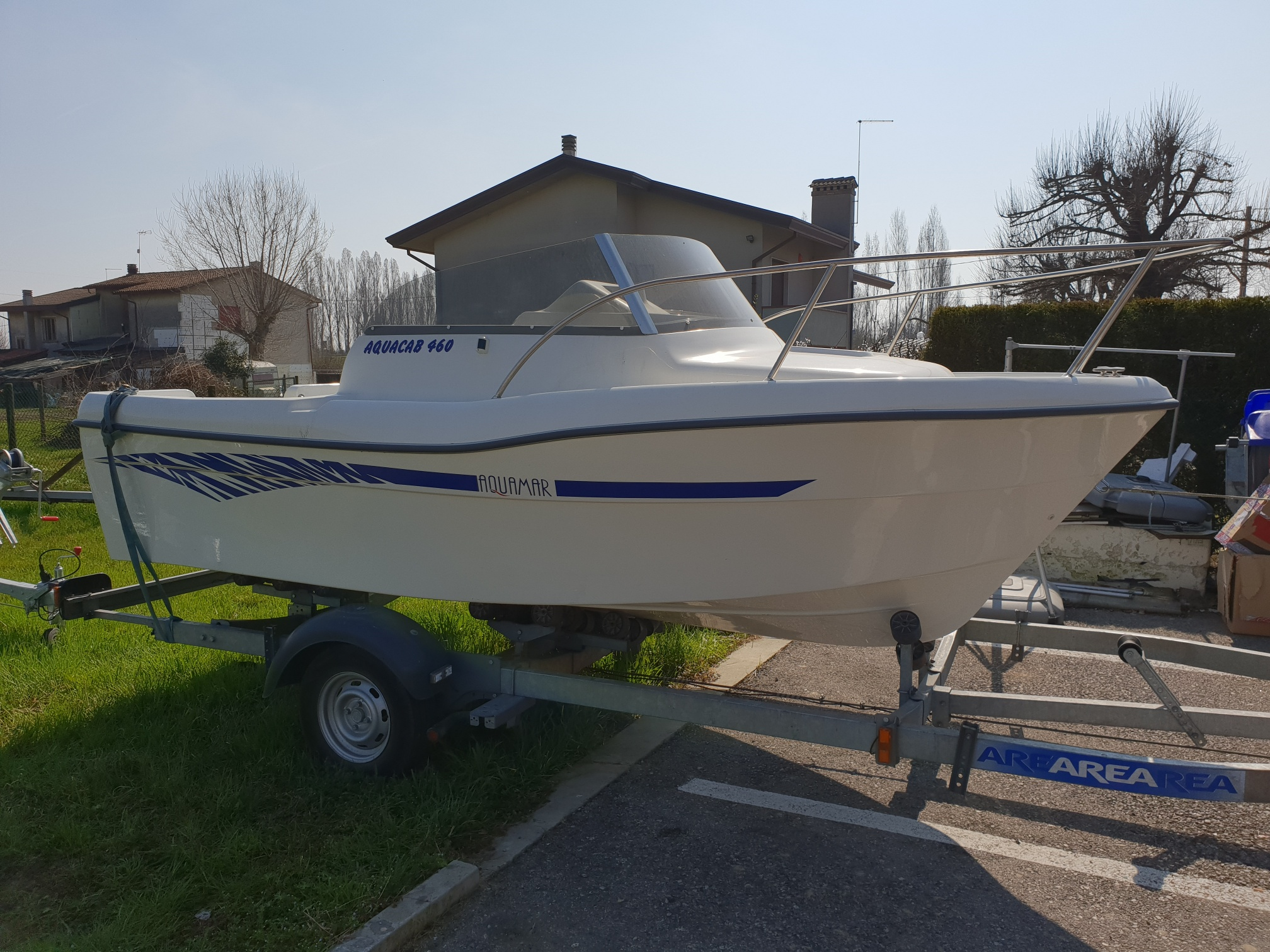 Foto OCCASIONE Barca Cabinato Pesca Aquamar 460 - 1