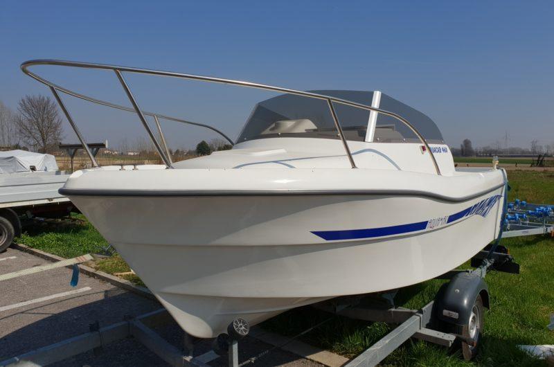 Foto OCCASIONE Barca Cabinato Pesca Aquamar 460 - 6