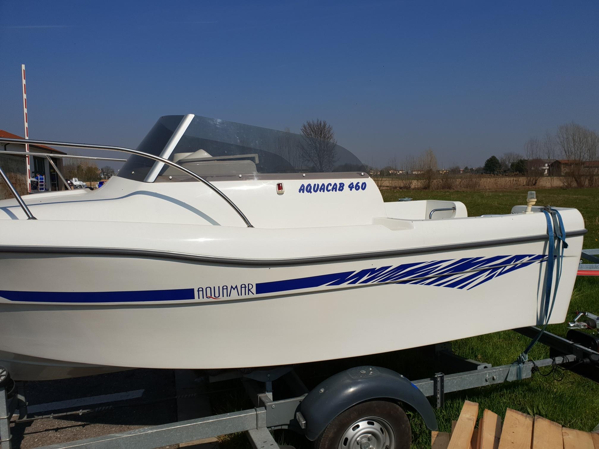 Foto OCCASIONE Barca Cabinato Pesca Aquamar 460 - 8