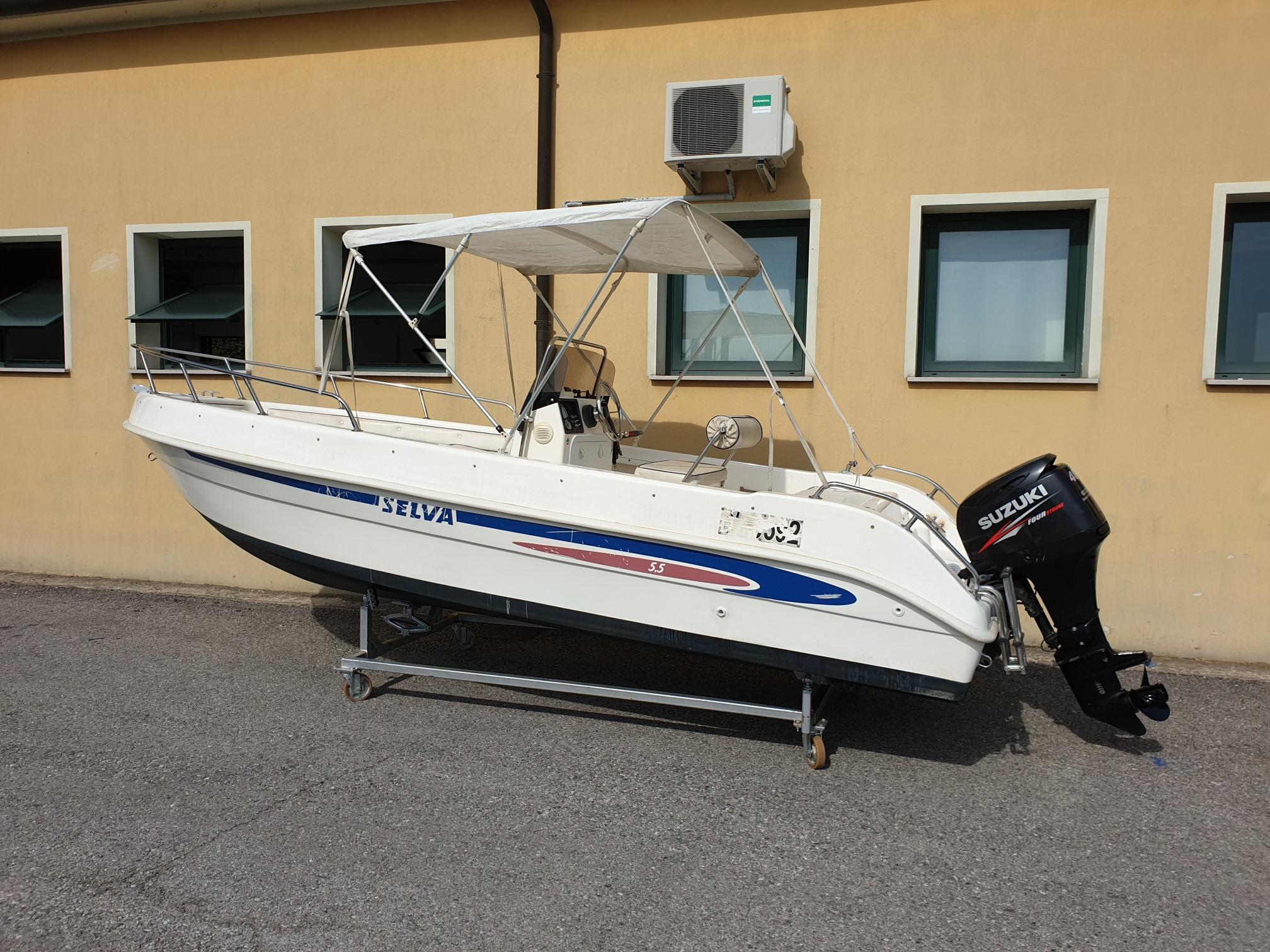 Foto Barca usata Open Selva 5.5 + Suzuki F 40 Iniezione - 11