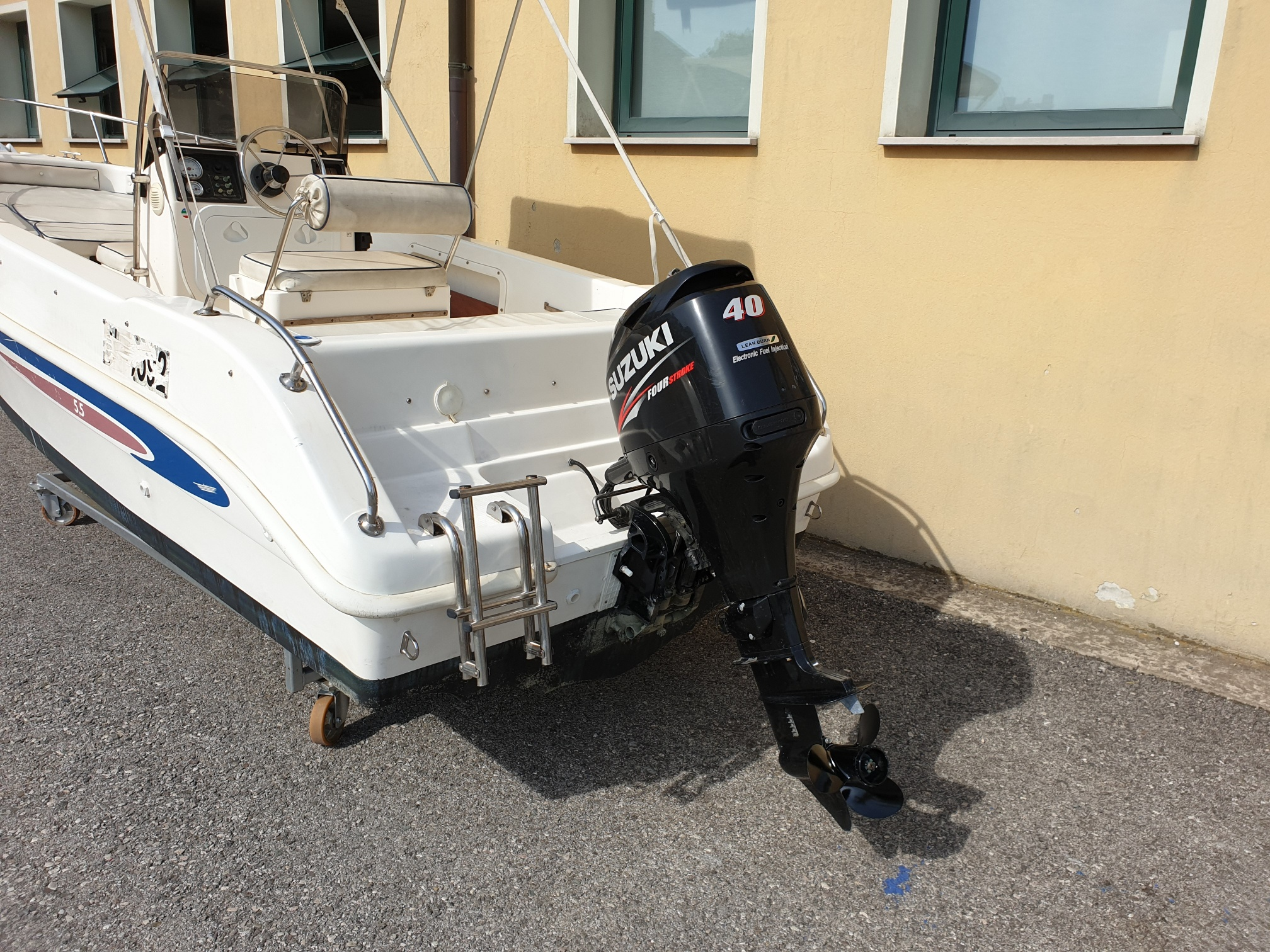Foto Barca usata Open Selva 5.5 + Suzuki F 40 Iniezione - 12