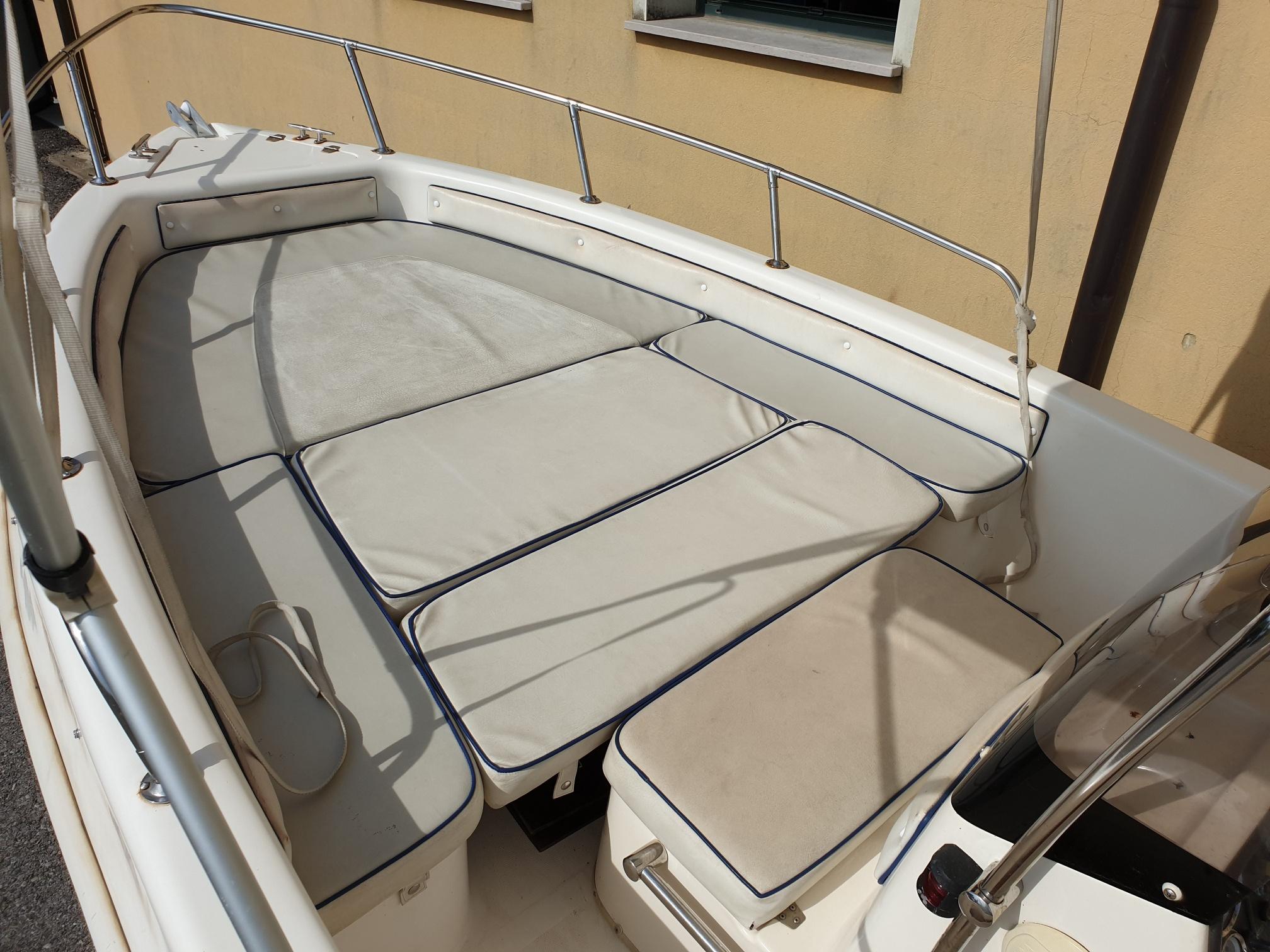 Foto Barca usata Open Selva 5.5 + Suzuki F 40 Iniezione - 4