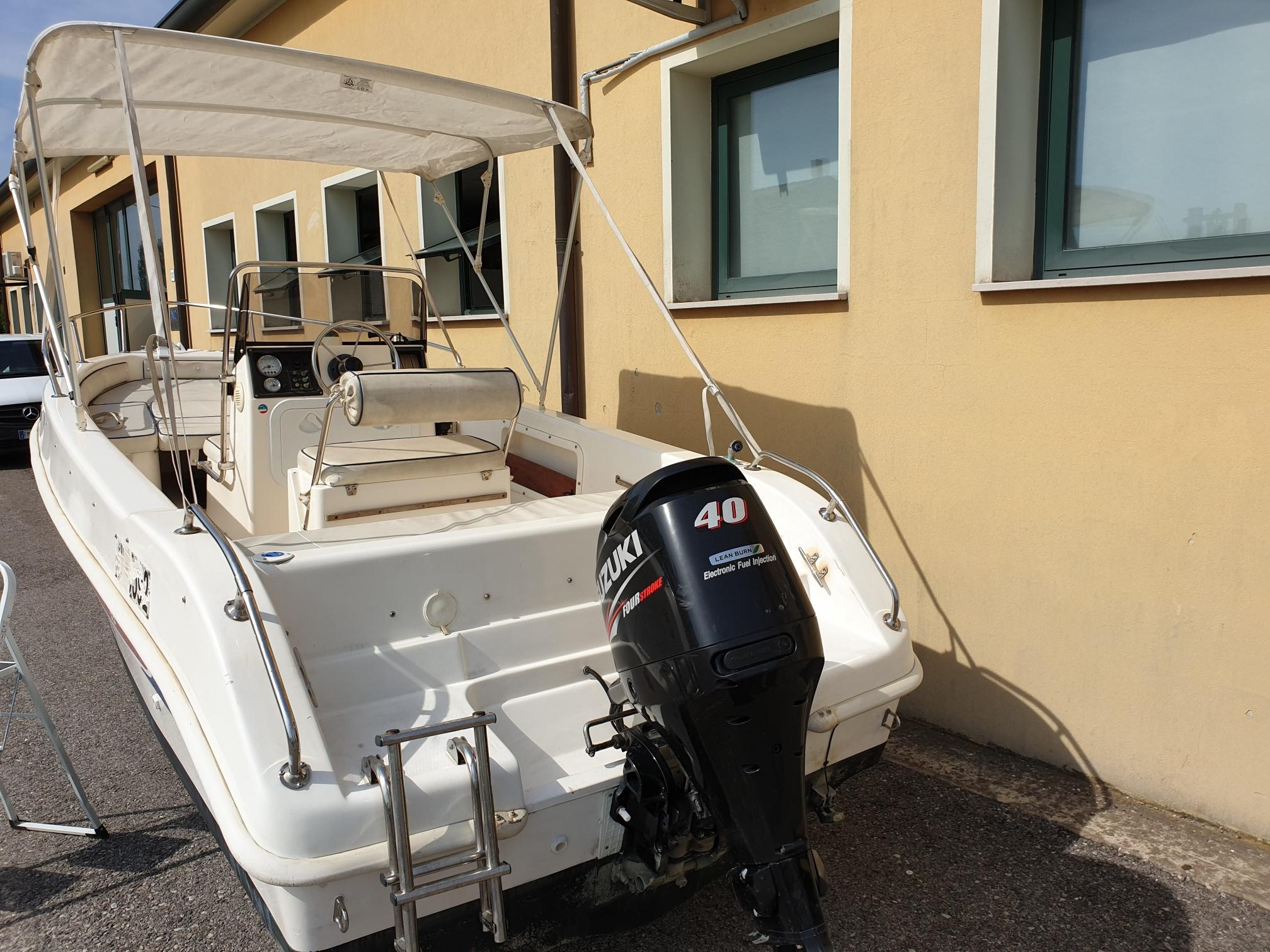 Foto Barca usata Open Selva 5.5 + Suzuki F 40 Iniezione - 6