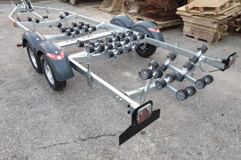 carrello mx182s porta gommone stradale