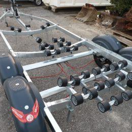 rimochio doppio asse satellite 2200 Kg per barche e gommoni veneto