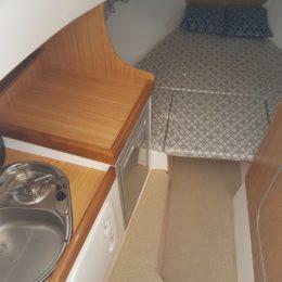 cabina di prua marinello 26 cabin