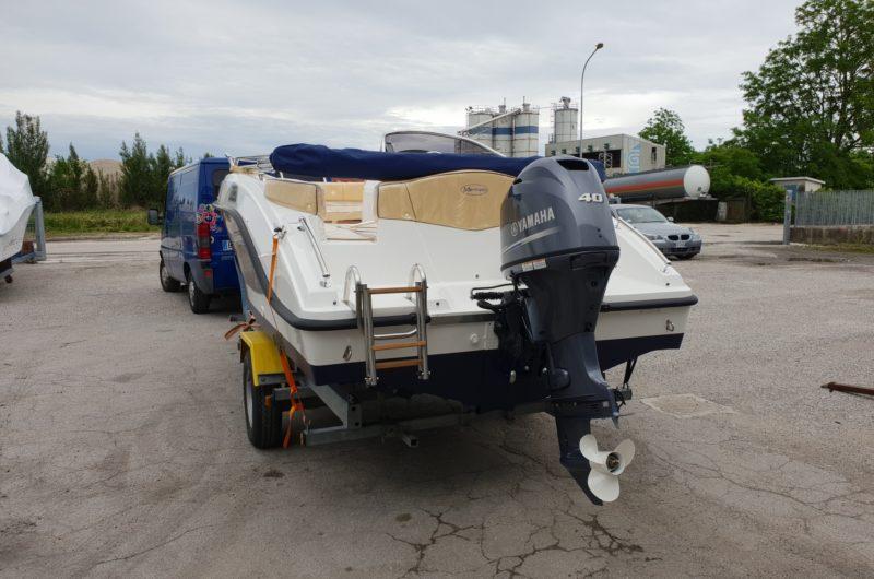 imbarcazione open console laterale marinello