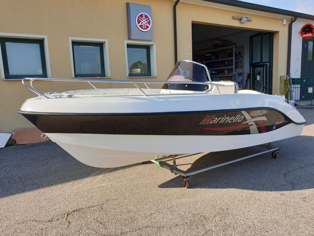 barche nuove venezia marinello fisherman 17 open